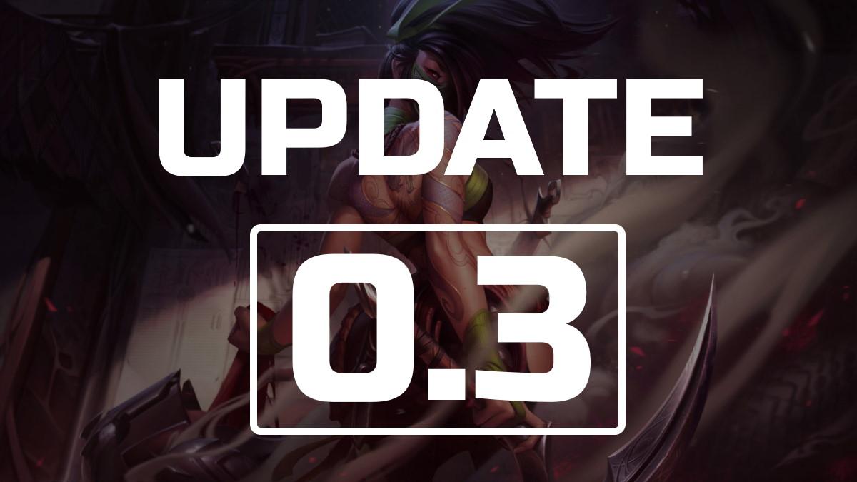 Update 0.3