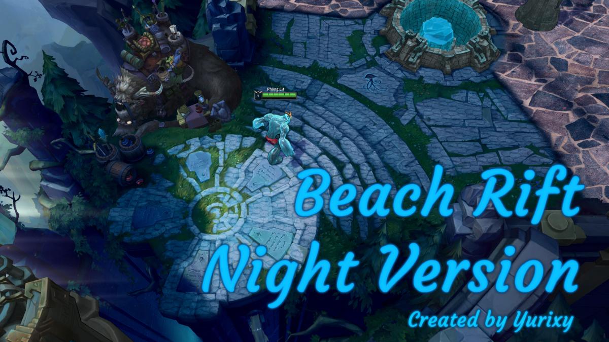 Beach Rift (Night)
