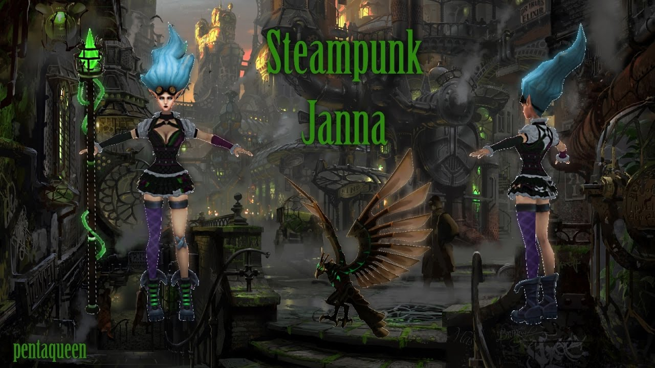 Steampunk Janna